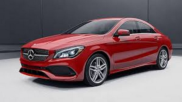 mercedes cla red rent delhi