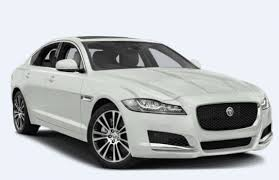 jaguar xf new shape white rent delhi
